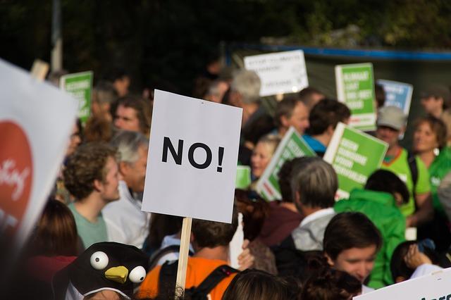 Ruch oburzonych – poważny strajk