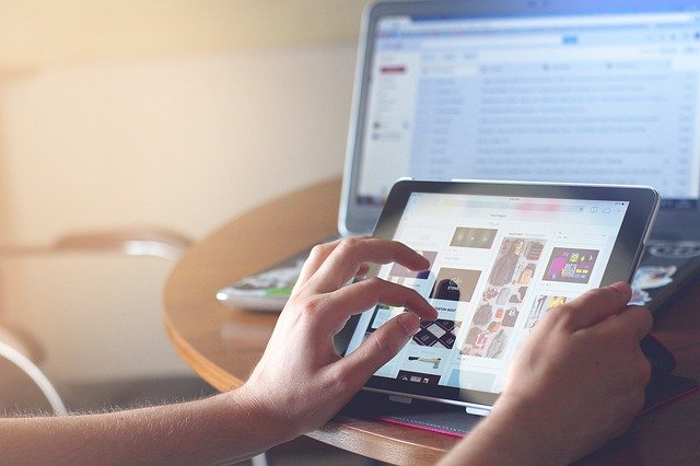 komputer i tablet
